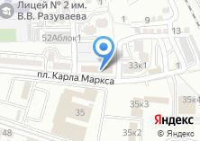 Компания «Кадастровый инженер Фролова Т.С.» на карте