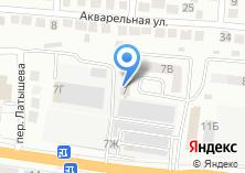 Компания «ГлавДоставка» на карте