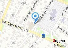 Компания «АстПринт» на карте