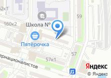 Компания «Звездная» на карте