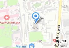 Компания «ИнтерАвто» на карте