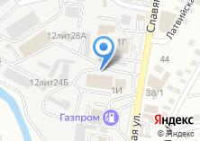 Компания «Техгаз» на карте