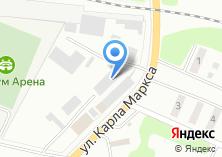 Компания «Сантехмас» на карте