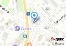 Компания «Атомак» на карте