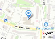 Компания «Техинвентстрой» на карте