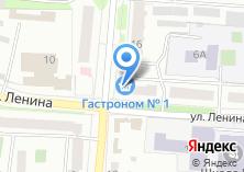 Компания «Продуктовый магазин №1» на карте