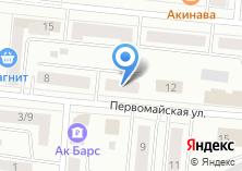Компания «Азимут+» на карте
