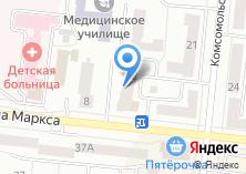Компания «СННИК» на карте