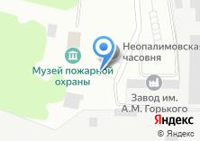Компания «Мечеть Зеленодольского гарнизона пожарной охраны» на карте