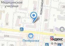 Компания «Дизайн ОКНО-НТ» на карте