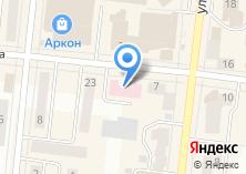 Компания «Поликлиника №1 ЦРБ» на карте