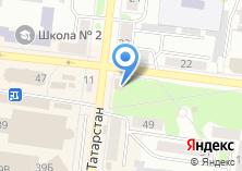 Компания «Тамле» на карте