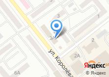 Компания «Продуктовый магазин на ул. Королёва» на карте