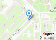 Компания «Мирас» на карте