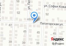 Компания «Продуктовый магазин на Пятигорской» на карте