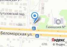 Компания «Парикмахерская на Беломорской» на карте