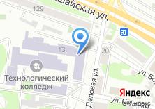 Компания «Анакреон» на карте