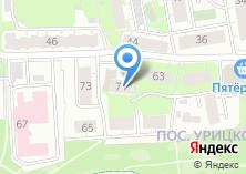 Компания «Городское Бюро Недвижимости» на карте