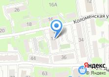 Компания «Коломенская 17» на карте
