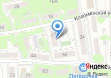 Компания «Технолегион» на карте