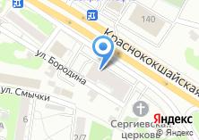 Компания «Кухни дриада» на карте