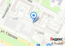 Компания «Автостоянка на ул. Блюхера» на карте