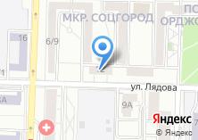 Компания «Дефендер» на карте