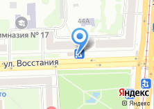 Компания «Магазин фастфудной продукции на ул. Восстания» на карте