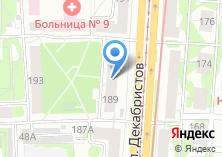 Компания «Цветочная веранда» на карте
