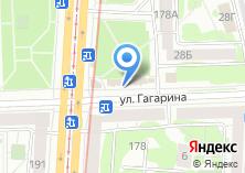 Компания «Магазин пряжи на Гагарина» на карте