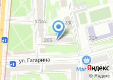 Компания «ИнтерСофт» на карте