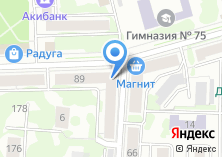 Компания «Амега Групп» на карте