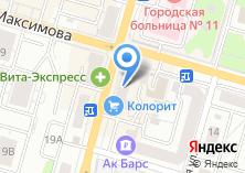 Компания «Банкомат АИКБ Татфондбанк» на карте