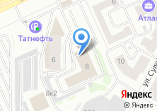 Компания «Витражи Казани» на карте
