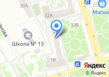 Компания «НАТЭЛЬ» на карте