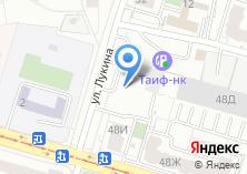 Компания «Продуктовый магазин на Лукина» на карте