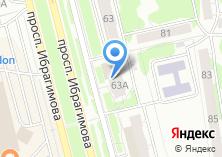 Компания «Современные комфортные апартаменты» на карте