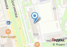 Компания «Мебель-Инвест» на карте