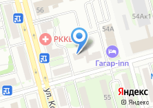 Компания «АВТО ЕВРО» на карте