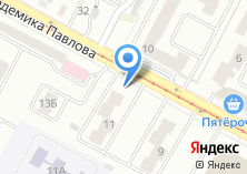 Компания «Продуктовый магазин на Академика Павлова» на карте