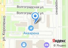 Компания «Акварена» на карте