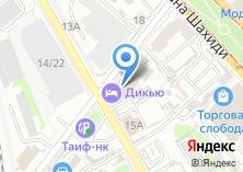 Компания «Кемтура» на карте
