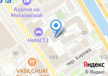 Компания «Эксклюзив интерьер» на карте