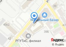 Компания «Мебельный базар» на карте