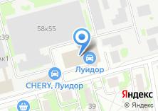 Компания «Jeep» на карте