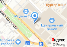 Компания «Тихое место» на карте