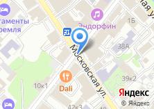 Компания «Дэвра Недвижимость» на карте