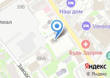 Компания «Инвестстройснаб» на карте