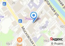 Компания «Манхэттен» на карте