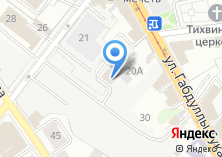 Компания «Материалы и оборудование» на карте